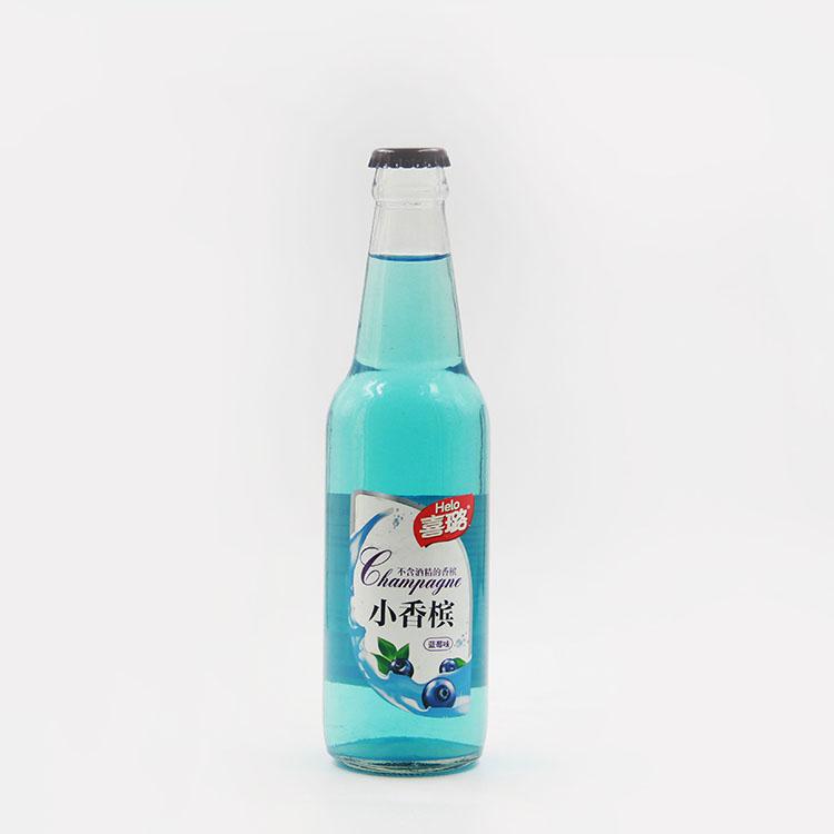 蓝莓味小香槟